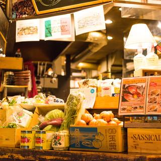 【こだわりの野菜】ドーニマーケット毎日開催中