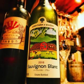 国内産のワイン