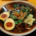 中華そば 麺屋7.5Hz - 【中華そば(並) + 味付け玉子】¥530 + ¥100