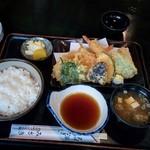 Misaki - 天ぷら定食(並)1000円