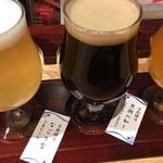 京都タワー サンド バル - 京都醸造飲み比べ ¥980