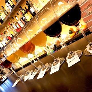 厳選された7種類の国産クラフトビール
