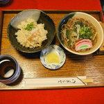 町家茶屋 古伊 - そばと季節のご飯モノ800円