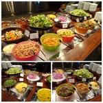 ハカタ オノ - ◆サラダbuffetは品数豊富。