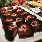 トミーバハマ - チョコレートパイ@MVP。チョコとトフィーで悪魔のような甘さ!きっと賛否両論w