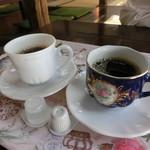 蕎麦御休憩処 しらい庵 - セルフコーヒーが付く