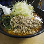一二三家 - ネギそぼろ麺(850円)