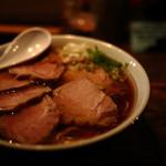 フリーフローランチ - 鶏清湯中華そば¥850+チャシュートッピング¥200