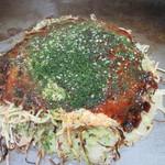 元祖八昌 - そば入り 肉・卵 750円