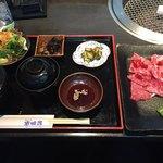 純近江牛 安田良 - 料理写真:焼肉ランチ1600円