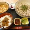 清修庵  - 料理写真:濃厚豚つけ麺セット