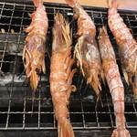 磯丸水産 - 赤海老焼き