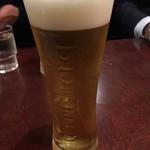 新宿ボンベイ - ビール