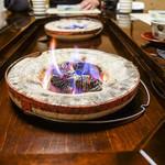 比良山荘 - 炭火