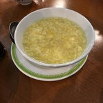 重慶茶樓 - コーンスープ