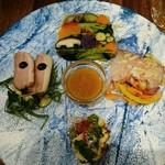 ピッツェリア ピッキ - 季節野菜のテリーヌ