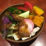 ごはんや農家の台所 - 野菜サラダ