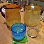 藍風珈琲店 - やんばるくいな 泡盛古酒。 これ飲むと一気に酔います(^^;;
