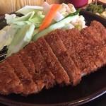 とんかつ和佳葉 - 料理写真:ジャンボロースカツ150g