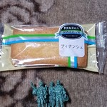ファミリーマート - 料理写真:フィナンシェ113円