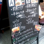 Naga~n cucina italiana - メニュー看板