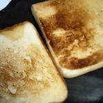 焼きたて食パン専門店 一本堂 - 少し焼き過ぎた?