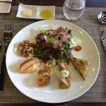 レストラン タケウチ - ランチ 前菜