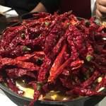 赤い壺 - 赤富士鍋(3辛)