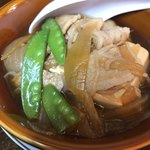 76972480 - 肉豆腐。