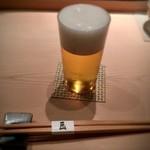 76972760 - 小ビールで乾杯♪( ´▽`)