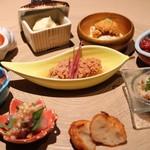鮮魚と郷土料理の店 たつと - おまかせプレート!美しい!