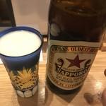 76973948 - 赤星さん中瓶¥680だがね〜♫❗️