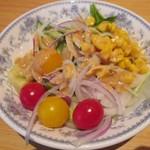 レストラン モナミ - サラダ