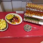 レストラン モナミ - デザートコーナー