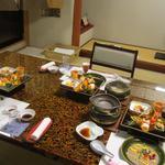 古屋旅館 - 夕食全景