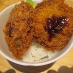 レストラン モナミ - アレンジしてミニかつ丼