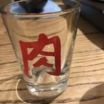 肉山の一階 - 日本酒用