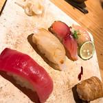 はせ川 - 〆はやっぱりお寿司♫