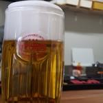 ローストビーフ丼の店 オレンジブーム - ドリンク写真:オリオンビール