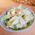 ルンビニカレーハウス - セットのサラダ