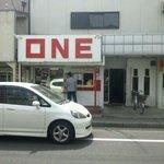 ONE - 外観(車が邪魔・・・)