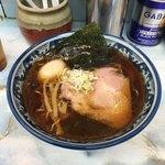 ラーメン丸仙 - 支那そば(700円)と味玉(100円)