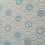 江ノ島 はろうきてぃ茶寮 - 壁にもキティちゃんのイラストがかかれています。