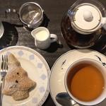 Cafeきょうぶんかん - タンネちゃんとダージリンティー