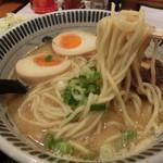 同源 - 魚介豚骨ラーメン+炒飯。970円
