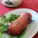 杉山牛肉店 - 焼き豚(盛付例)