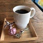 そば舎 あお - ホットコーヒー