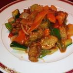 76988327 - タイ風豚肉と野菜炒め