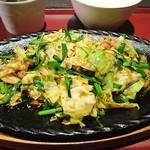 韓国苑 - ニラ豚定食