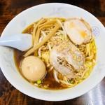 丸福中華そば - 玉子そば(750円)